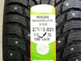 315/40 R21 зад и 275/45 R21 перед Nokian Hakkapelitta 9 SUV за 141 390 тг. в Алматы – фото 2