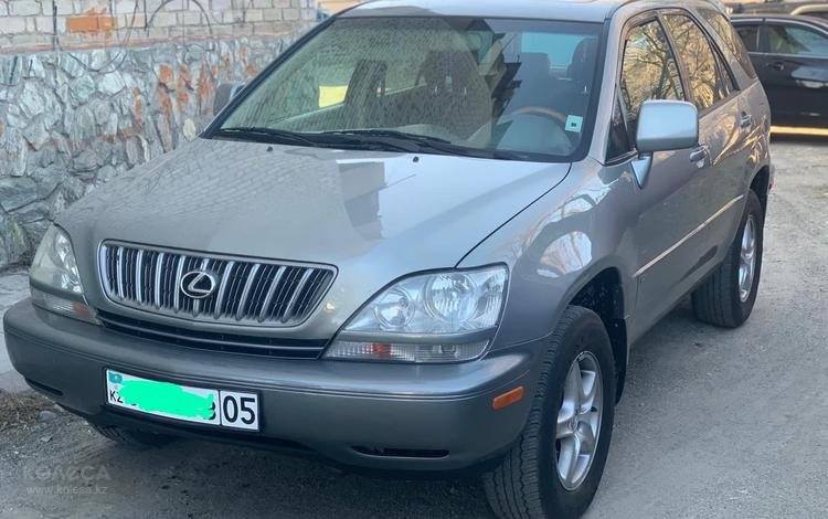 Lexus RX 300 2001 года за 5 400 000 тг. в Талдыкорган