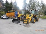 Установка навесного оборудования на погрузчик в Атырау