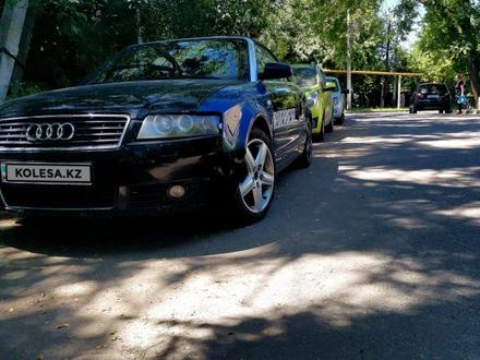 Audi A4 2003 года за 1 900 000 тг. в Алматы – фото 3