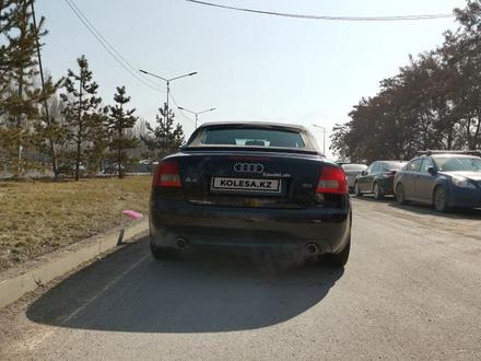 Audi A4 2003 года за 1 900 000 тг. в Алматы – фото 4