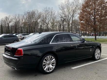 Rolls-Royce Ghost 2018 года за 115 000 000 тг. в Алматы – фото 3