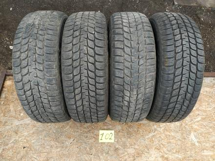 Резина б у 195*65*15 Bridgestone (M + S) зима 4 шт., комплект б у из Европы за 50 000 тг. в Караганда