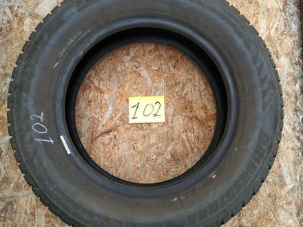 Резина б у 195*65*15 Bridgestone (M + S) зима 4 шт., комплект б у из Европы за 50 000 тг. в Караганда – фото 2