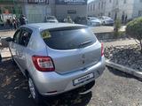 Renault Sandero 2021 года за 6 950 000 тг. в Алматы – фото 4