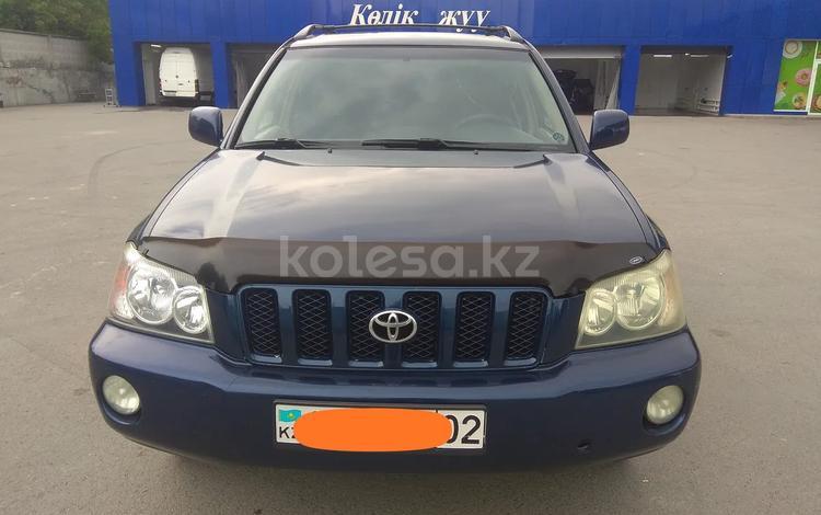Toyota Highlander 2003 года за 4 900 000 тг. в Алматы