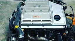 Двигатель (ДВС) АКПП 1mz fe 3.0 литра коробка за 100 тг. в Алматы