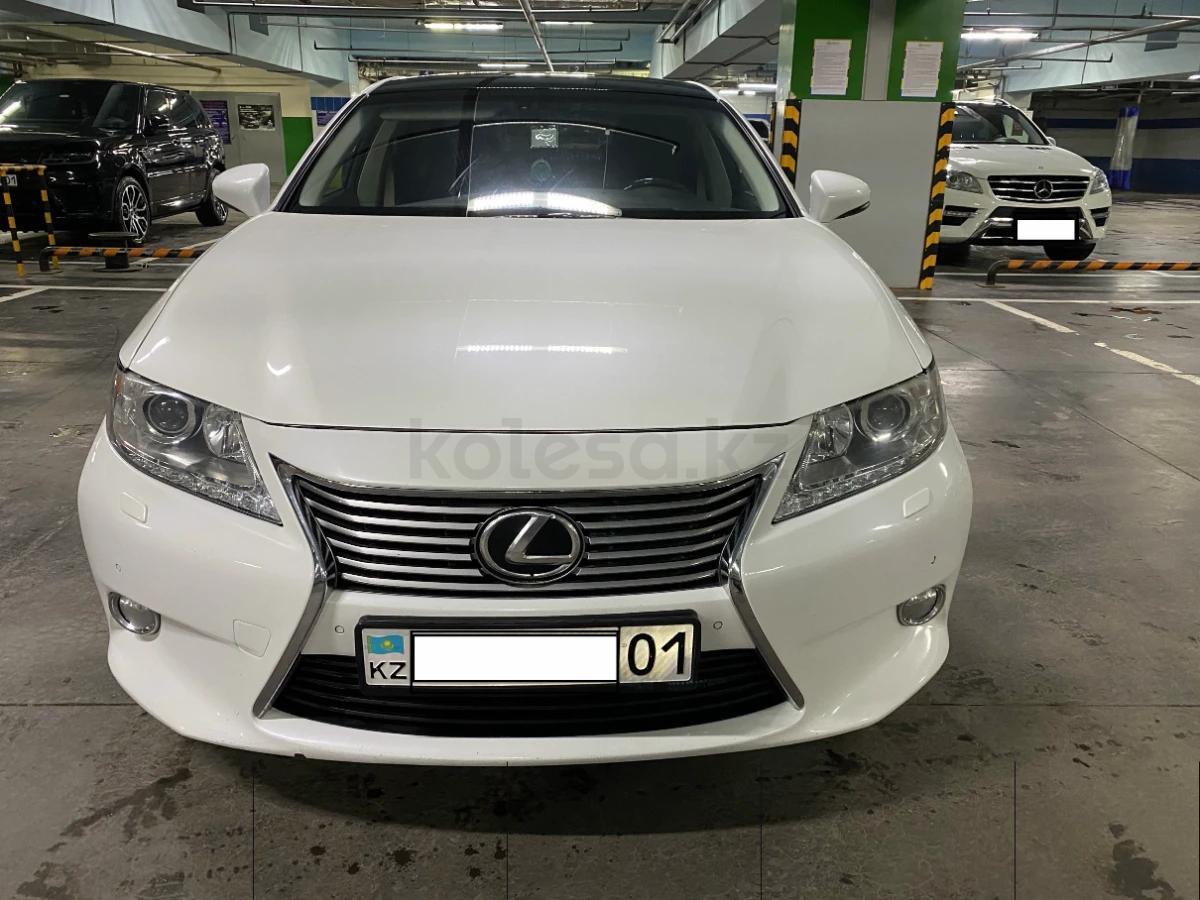 lexus es 350 2012 года