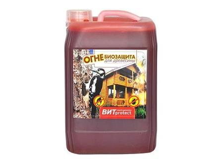 Огнебиозащита для древесины канистра 10 литров в Алматы