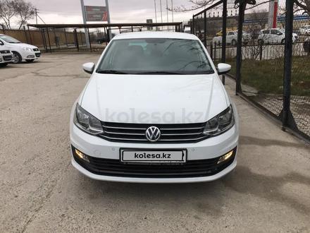 Volkswagen Polo 2020 года за 6 590 000 тг. в Актау – фото 2