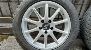 Диски на VW Passat r16 с зимней резиной 205 55 16 за 200 000 тг. в Алматы