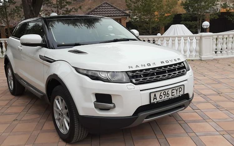 Land Rover Range Rover Evoque 2012 года за 8 800 000 тг. в Алматы
