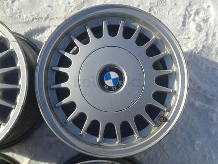 Оригинальные легкосплавные диски на БМВ 5, 2 стиль (Германия R15 5 за 40 000 тг. в Нур-Султан (Астана) – фото 3
