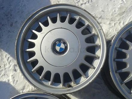 Оригинальные легкосплавные диски на БМВ 5, 2 стиль (Германия R15 5 за 40 000 тг. в Нур-Султан (Астана) – фото 4