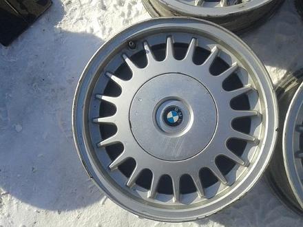 Оригинальные легкосплавные диски на БМВ 5, 2 стиль (Германия R15 5 за 40 000 тг. в Нур-Султан (Астана) – фото 5