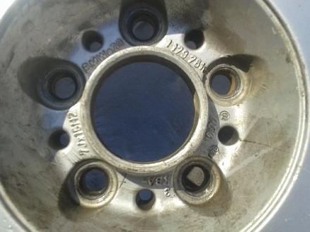 Оригинальные легкосплавные диски на БМВ 5, 2 стиль (Германия R15 5 за 40 000 тг. в Нур-Султан (Астана) – фото 6