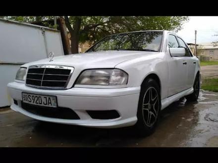 Передний бампер Custom для Mercedes Benz w202 за 45 000 тг. в Алматы – фото 3