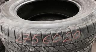 2 летние шины Bridgestone 275/60/20 за 29 990 тг. в Нур-Султан (Астана)