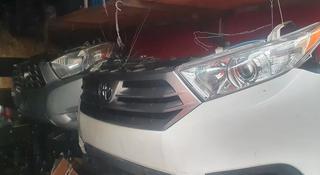 Toyota highlander 2013г носкат (морда) за 666 666 тг. в Алматы
