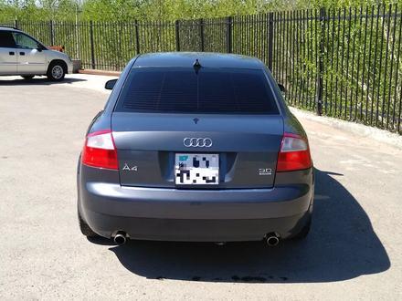 Audi A4 2003 года за 2 600 000 тг. в Усть-Каменогорск – фото 2