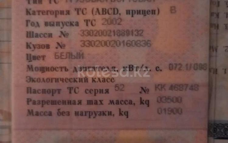 ГАЗ  Газель 2002 года за 1 000 000 тг. в Туркестан