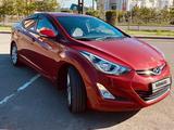 Hyundai Elantra 2016 года за 6 200 000 тг. в Нур-Султан (Астана) – фото 3