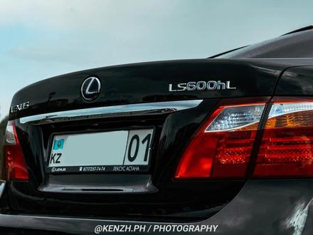 Lexus LS 600h 2012 года за 16 000 000 тг. в Нур-Султан (Астана) – фото 7