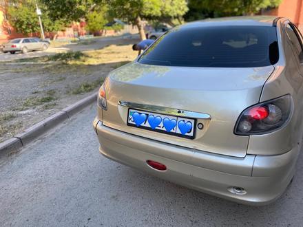 Peugeot 206 2008 года за 1 400 000 тг. в Шымкент – фото 4