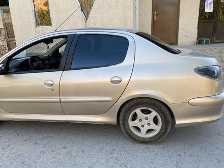 Peugeot 206 2008 года за 1 400 000 тг. в Шымкент – фото 7