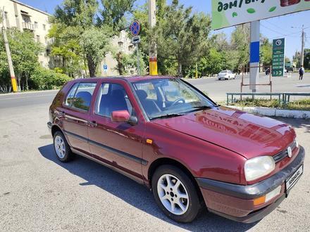 Volkswagen Golf 1992 года за 1 450 000 тг. в Тараз – фото 3