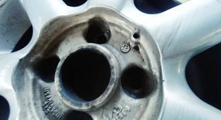 Титановые диски на volkswagen golf 3 с резины за 50 000 тг. в Алматы