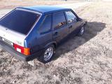 ВАЗ (Lada) 2109 (хэтчбек) 2004 года за 600 000 тг. в Актобе – фото 3