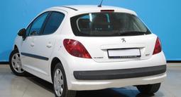 Peugeot 207 2007 года за 2 340 000 тг. в Алматы – фото 5