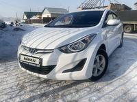 Hyundai Elantra 2014 года за 6 500 000 тг. в Алматы