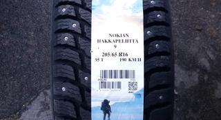 205/65 R 16 95t Nokian Hakkapeliitta 9 зимние шипованные за 48 100 тг. в Алматы