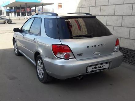 Subaru Impreza 2003 года за 2 700 000 тг. в Алматы – фото 2