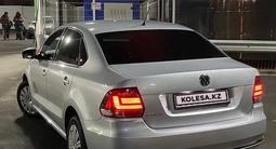 Volkswagen Polo 2016 года за 5 800 000 тг. в Алматы – фото 2