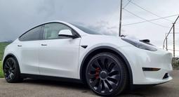 Tesla Model Y 2021 года за 41 000 000 тг. в Алматы – фото 4