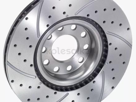 Тормозные диски передние и задние за 135 тг. в Алматы – фото 3