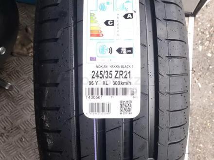 245/35 ZR 21 96y XL Nokian Hakka Black 2 за 109 980 тг. в Алматы – фото 2