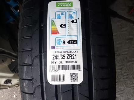 245/35 ZR 21 96y XL Nokian Hakka Black 2 за 109 980 тг. в Алматы