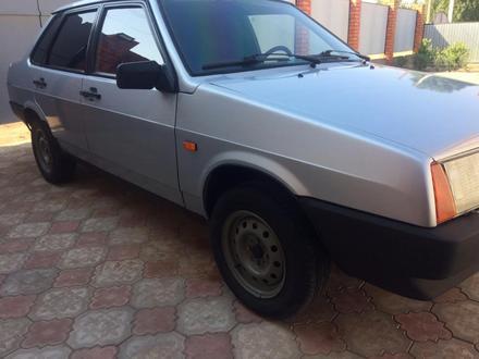 ВАЗ (Lada) 21099 (седан) 2001 года за 1 200 000 тг. в Актобе – фото 2