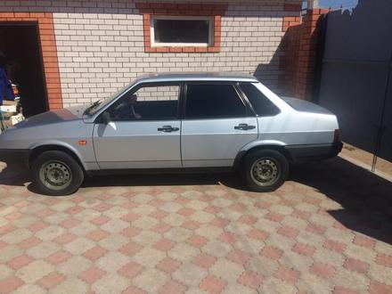 ВАЗ (Lada) 21099 (седан) 2001 года за 1 200 000 тг. в Актобе – фото 9