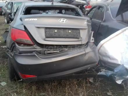 Hyundai Accent 2015 года за 555 555 тг. в Алматы – фото 2