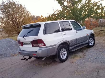 SsangYong Musso 2002 года за 2 000 000 тг. в Шардара