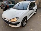 Peugeot 206 2002 года за 1 100 000 тг. в Алматы