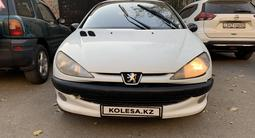 Peugeot 206 2002 года за 1 100 000 тг. в Алматы – фото 2