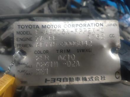 АКПП Toyota Spacio AE115 7a-FE за 106 872 тг. в Алматы – фото 2