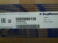 ТУРБИНА BorgWarner 53039880136 НА AUDI A3 1.8 TFSI 2003 за 278 000 тг. в Алматы