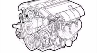 Двигатель Cal Ауди за 1 150 000 тг. в Нур-Султан (Астана)
